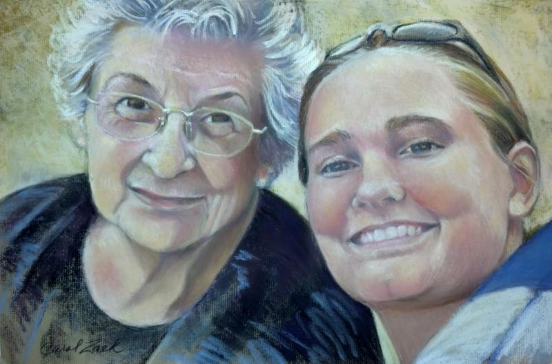 Portrait of Kate and Grandma