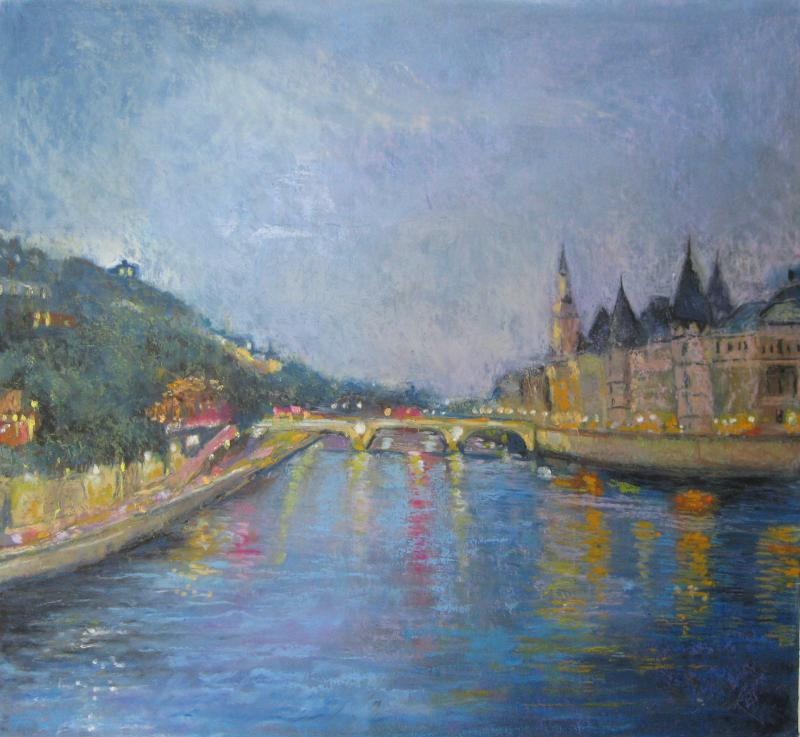 View from Pont Neuf, Paris