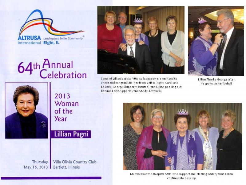 "Lillian Pagni wins ""Woman of the Year"""